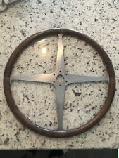 Bugatti Type 35 Wood Steering Wheel Incredible Reproduction