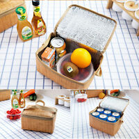 Portable Insulated Thermal Cooler Lunch Box Carry Tote Picnic Case Storage Bags