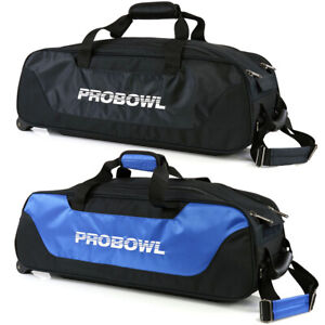 Bowling 3 Ball Tasche Pro Bowl Basic Triple Tote Roller