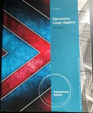 Elementary Linear Algebra by Ron Larson 7th Edition (2013)