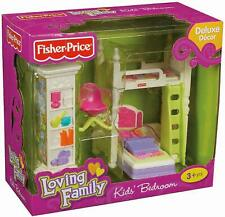 Fisher-Price Loving Family Kids Bunk Bedroom Set, NIB, SOLD OUT, RETIRED VHTF