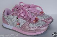 New Stride Rite Charm a Charms Love My Style White Gray Pink Size 13 M SOLD OUT