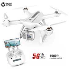 Holy Stone Hs700D GPS 1080p FHD FPV RC Drone  WiFi HD Camera Quadcopter White