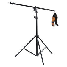 Phot-R 4m Heavy Duty Photo Studio 2in1 Combi Rotatable Boom Arm Light Stand Kit