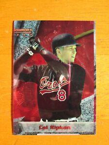 Very Rare! 1994 Bowman's Best - BLANK BACK ERROR - Cal Ripken Jr #71 Orioles