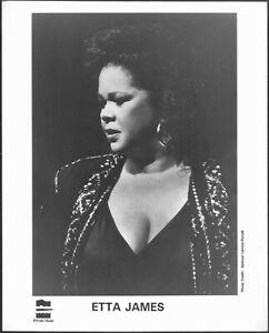 ~ Blues Vocalist Etta James Original 1995 Private Music Label Promo Photo