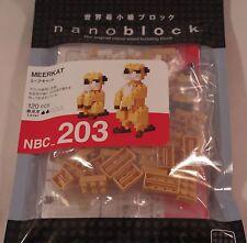 Kawada nanoblock Mini MEERKAT  - japan building toy block NEW NBC_203
