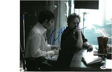 Tim Burton Signed Dark Shadows Autographed 11x14 Photo PSA/DNA #AB90974