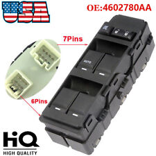 NEW Window Master Switch Driver Side 4602780AA For 04-14 Chrysler Dodge Jeep