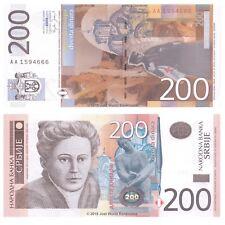 Serbia 200 Dinara 2005 P-42 Banknotes UNC