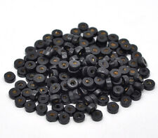 1000 Wood Spacer Beads 8mm