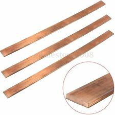 1Pc 99.6% High Purity Copper T2 Cu Metal Flat Bar Plate Seet 3mm x 15mm x 250mm