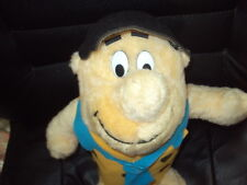 "Vintage Fred Flinstone Plush Doll-Nanco-1989-14"" -Nice Condition!"