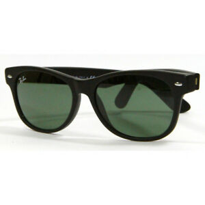 Ray Ban 2132 622 Matte Black Sunglasses 55mm New and Authentic