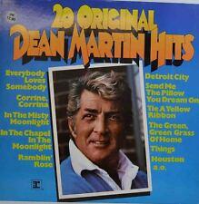 """20 ORIGINAL DEAN MARTIN HITS - SAME 12"""" LP (W323)"""