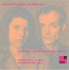 MUSIK FR SAXOPHON AUS BERLIN, VOL. 1 (1930-1932) USED - VERY GOOD CD