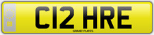 C12 HRE CLAIRE NUMBER PLATE REGISTRATION CLARE ASSIGNED FREE CLAIRES FEES PAID