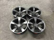 "20"" NEW TTRS DEEP CONCAVE Style Alloy Wheels Satin Gun Metal Audi A4 A6 A8 S4 S6"
