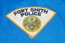 Arkansas Fort Smith Police Department Shoulder Jacket Coat Patch Ft. AR Cop Cops