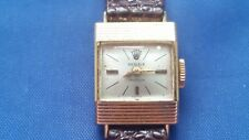 Vintage Rolex Precision 17 jewels Women's Watch 18K Gold Case