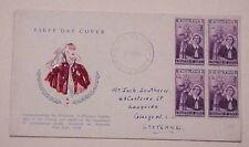 Australia Fdc Perth 1955 Nurse Cachet Addressed