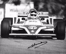 Jean Pierre Jarier SIGNED David Friedman Original Photo  Ligier-Matra JS17  1981