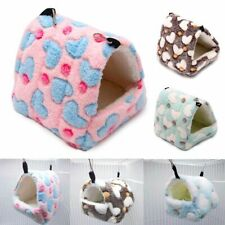 Pet Warm Bed Soft Warm House Small Animal Hedgehog Hamster Rat Hammock Pad Nest