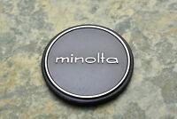 Genuine Minolta Metal 57mm Push On Front Lens Cap for 55mm Front (2730)