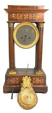 TABLE CLOCK. LOUIS PHILIPPE. MACHINERY HONORE PONS. 1855