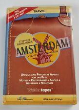 Stephen Birnbaums Amsterdam A Travelers Companion Cassette Audiobook