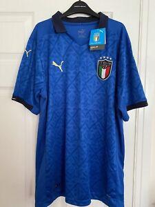 Puma Mens Italy Italian Euro Football Shirt XL BNWT