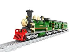 New Ausini Building Blocks Locomotive Train Passenger train #25904 666pcs