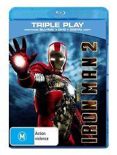 Iron Man 2 (Blu-ray, 2010, 3-Disc Set)
