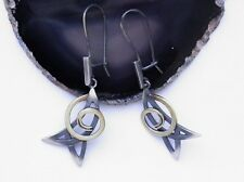 GORGEOUS EARRINGS * SIMPLE * STERLING SILVER 925 HAND MADE JEWELRY