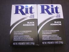 Rit Dye Black 1 1/8th Oz. 2 Boxes