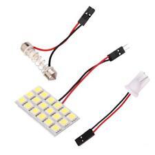 Luce Da Interno Auto 18 SMD LED Pannello Con Adattatore T10 BA9S