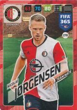 Panini Adrenalyn XL FIFA 365 2018 #278 Nicolai Jorgensen Feyenoord Rotterdam