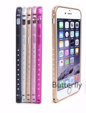 Lightweight Aluminium Crystal Edge Iphone Bumper case 6, 6+ 6s 6s+ 7, iphone 7+