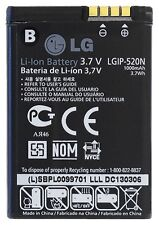 New OEM Original LGIP-520N Battery GD900 CRYSTAL BL40 BL40E AN270 GD900E GW505