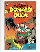 Donald Duck #257 Gladstone Comics 1987 VF 8.0 Giant Summer Special.