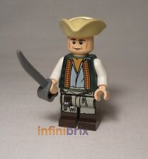 Lego Cook from Set 4195 Queen Anne's Revenge Pirates of the Caribbean NEW poc013