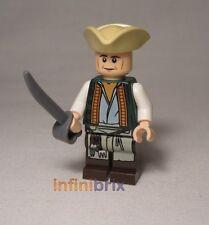 Lego cocinero de Set 4195 Queen Anne's Revenge Piratas Del Caribe Nuevo poc013