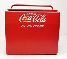 Antique Vintage Coca Cola Cavalier Bottle Chest Cooler Bottle Opener Box