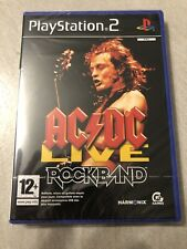 NEUF NEW ac dc live rock band playstation PS2 français