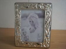 Wedding gift Handmade Sterling Silver Photo Picture Frame *Frutta/13×18 GBnew