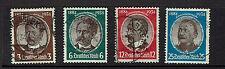 """GERMANY/ DEUTSCHES REICH 1934 #540-543 xfu """""""" E223b"""