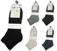 Ankle-High No Pattern 4-11 Hosiery & Socks for Women