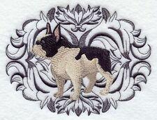 Embroidered Ladies Fleece Jacket - French Bulldog H2353 Sizes S - XXL