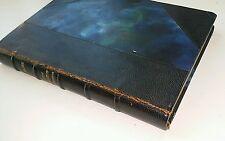 """1926 Magre """"Le Livre DEs Lotus Entr'Ouvert"""", Leather"""