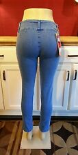 Sand Limited - Distressed & Embellished Blue Skinny Jeans, Juniors Size 9, NWT